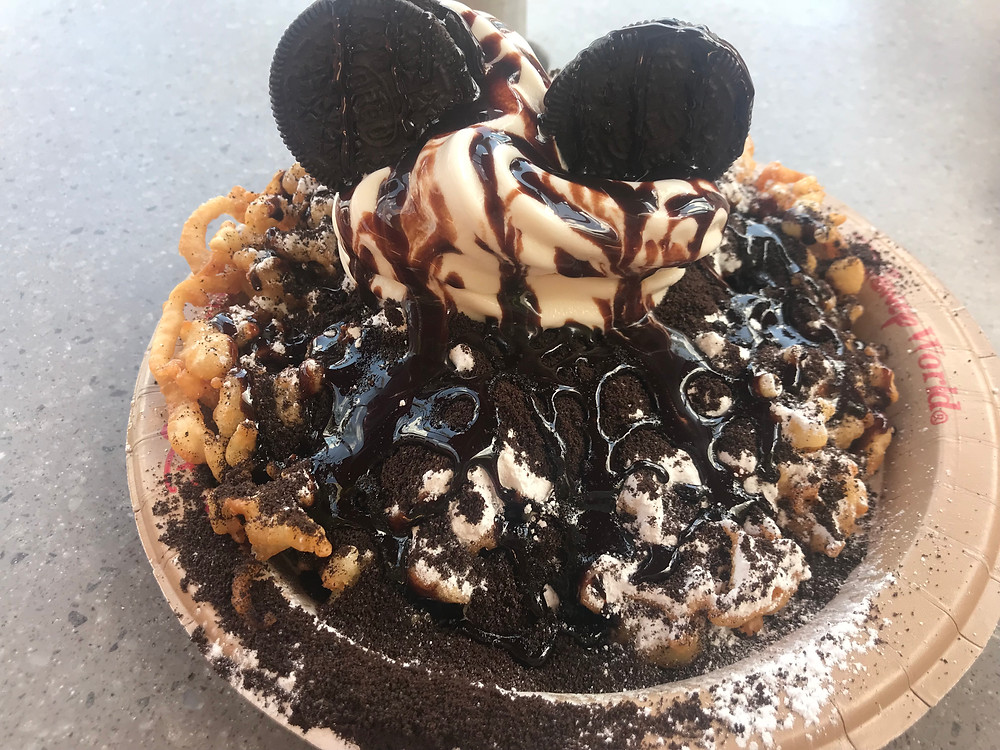 Cookies And Cream Funnel Cake