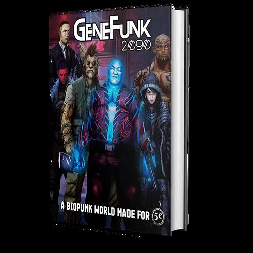 GeneFunk 2090 Core Rulebook - Hardcover + PDF