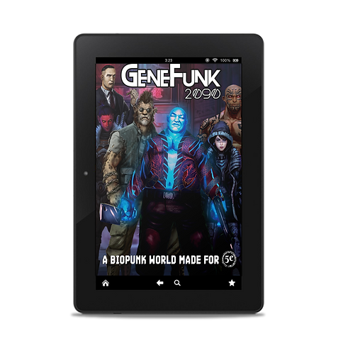 GeneFunk 2090 Core Rulebook - Bookmarked PDF