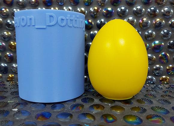 Medium Egg silicone Mould, plaster egg mould .