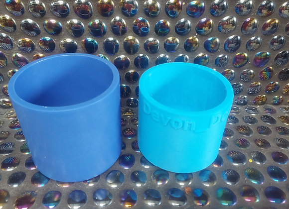 Plain pot candle wax refill silicone mould