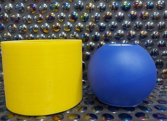 10cm larger sphere tea light silicone mould