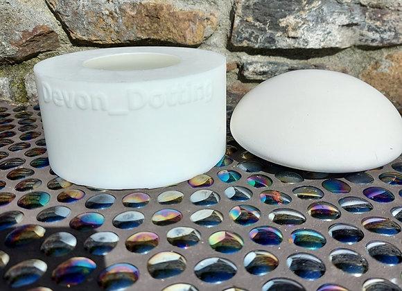 80mm Domed Artstone Mould