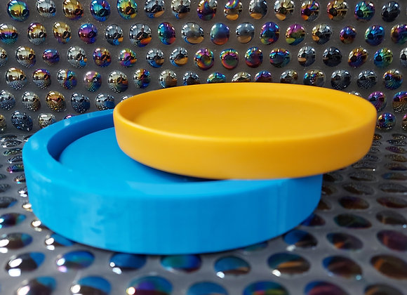 Medium round tray , silicone mould,  jesmonite mould, concrete tray mould