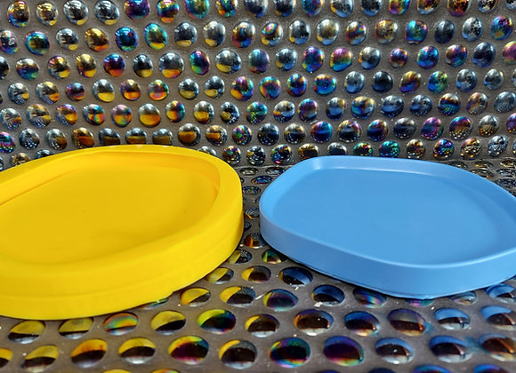 Irregular small serving tray silicone mould