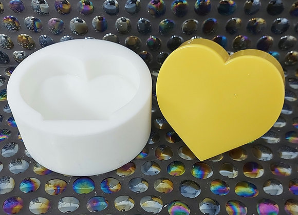 Stand up heart silicone mould