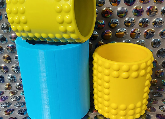 Own label bubbly candle vessel silicone mould