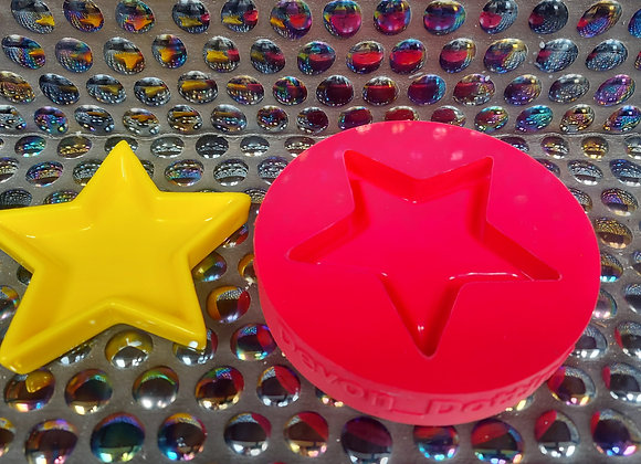 Star ring dish silicone mould.