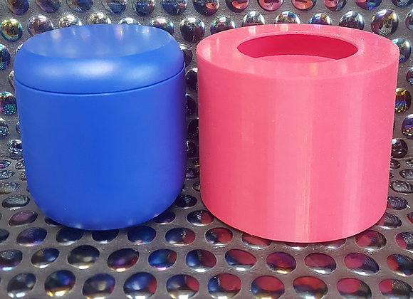 Bell pot with curved lid silicone moulds
