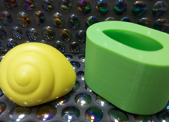 Small 3d silicone snail shell mould
