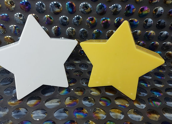 Stand up star silicone mould