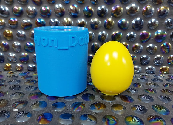 Small Egg silicone Mould, plaster egg, wax mould