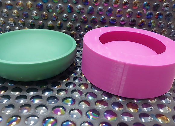 Shallow Trinket Bowl silicone Mould