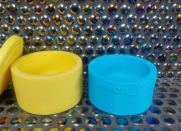 Candle vessel wax refill silicone mould