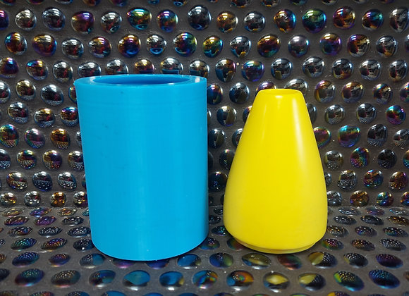 Tall bud stem vase silicone mould