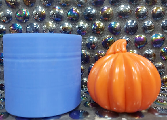 mini pumpkin silicone moulds, candle mould, wax mould, concrete mould