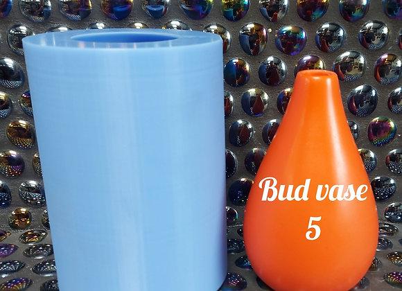 Bud vase 5 , silicone mould