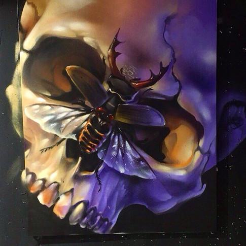 картина от граффити художника