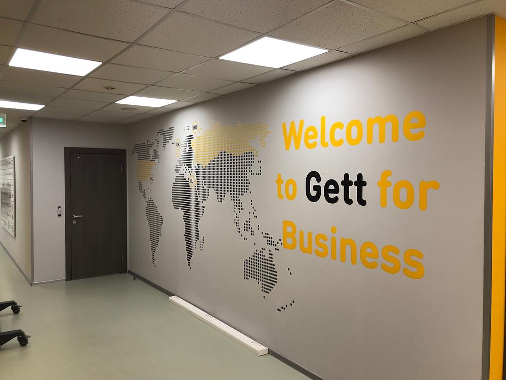 карта мира на стену в офис