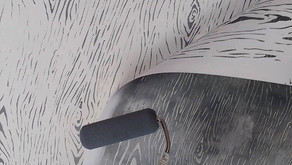 Трафаретная роспись стен - профессиональное оформление.
