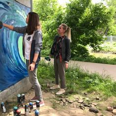 Уроки граффити