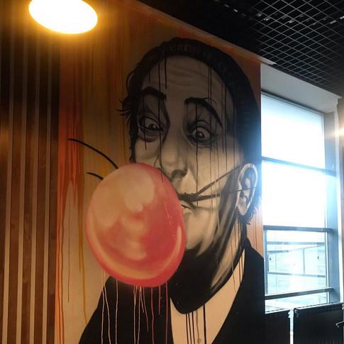 Граффити оформление для бизнеса
