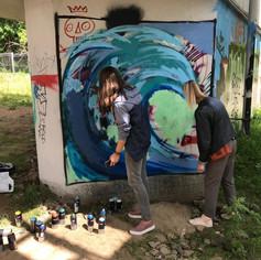 граффити мастер класс