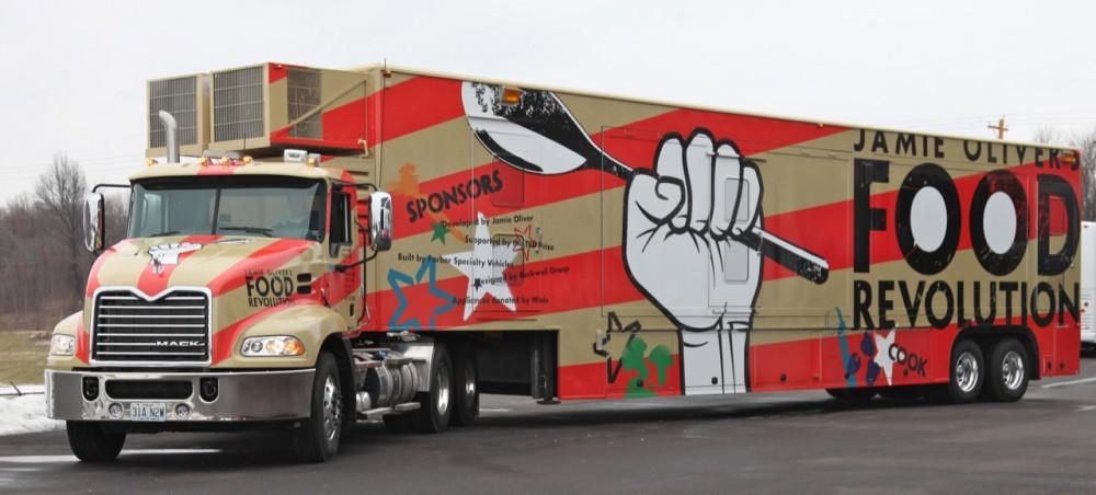 граффити оформление тягача