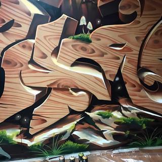 3д граффити шрифты