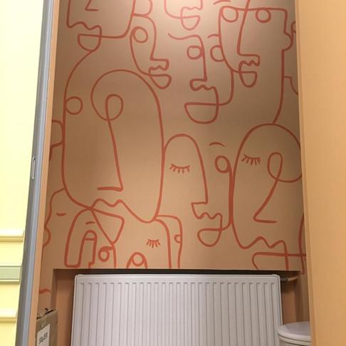 роспись стены кофейни в выборге