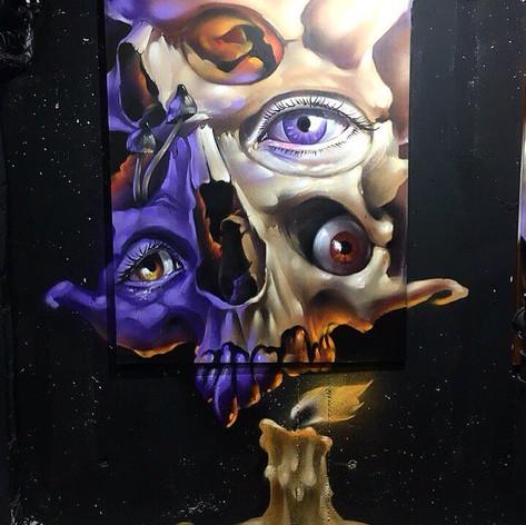 холсты граффити художников