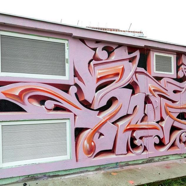 3д граффити на заказ