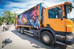 роспись грузового автомобиля