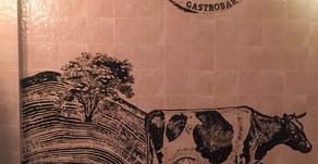 Роспись по плитке в  Fermer GastroBar Красногорск.
