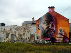 Роспись фасада в Ирландии