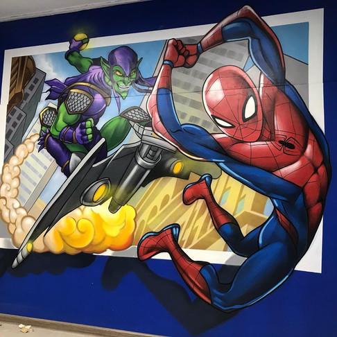 роспись стен игровой комнаты