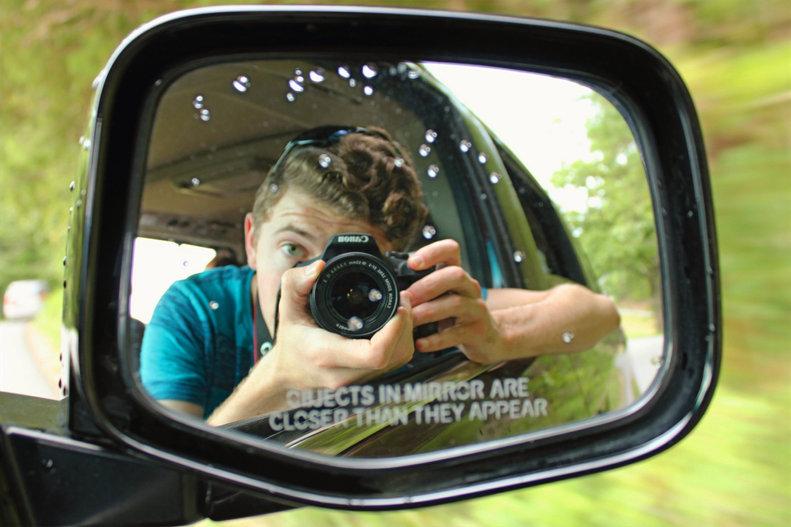Rain on the Mirror