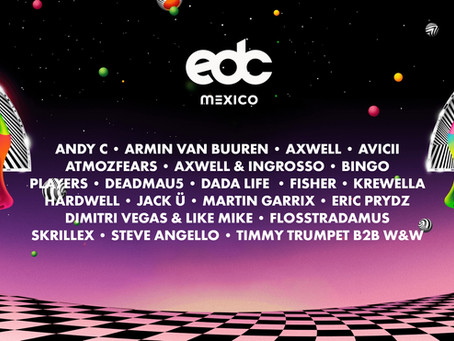 10 DJs qué tal vez no sabías que estuvieron en EDC México