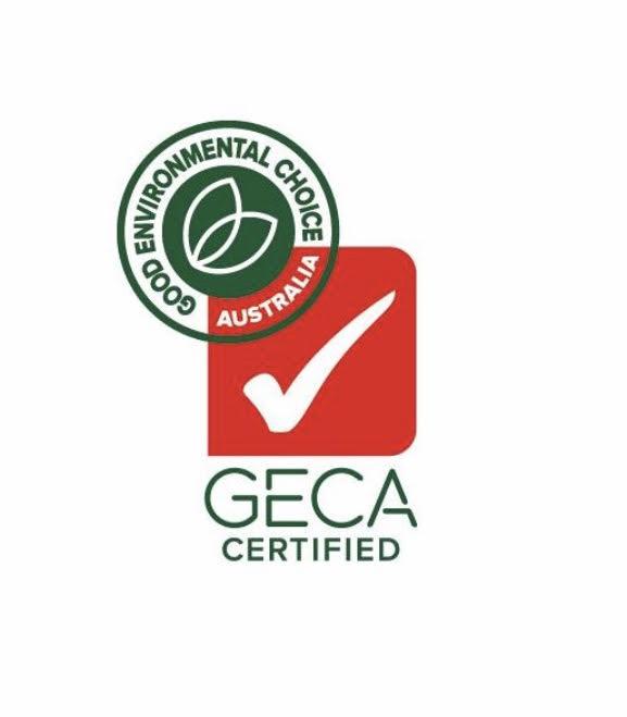 We use GECA certified Foam