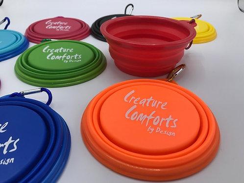 Portable Rubber Bowl