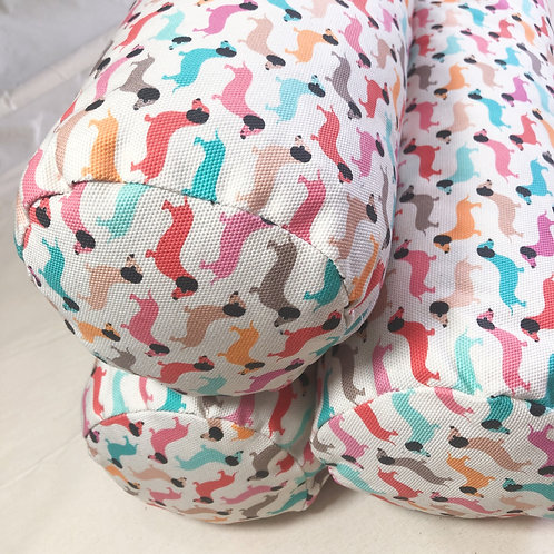 Vintage Dogs - Bolster Cushion COVERS