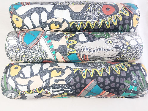 Crocs & Snakes Bolster cushion COVERS for Eco Dog Couch