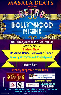 Bollywood Retro Night for Ladies FINAL-2