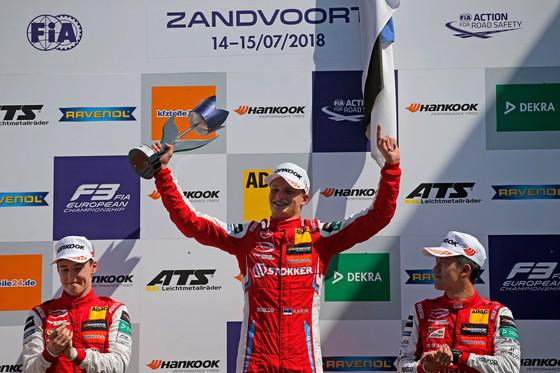 Ralf Aronile kaks võitu F3 etapilt Hollandis