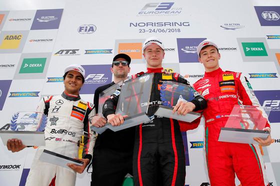 Jüri Vips saavutas esimese võidu Euroopa F3 sarjas