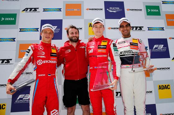 Ralf Aron tõusis Euroopa F3 etapil poodiumile