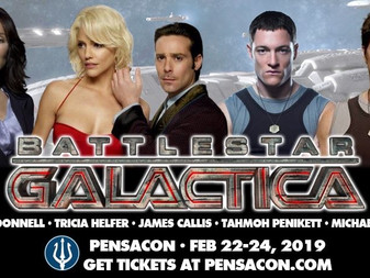 Battlestar Galactica Cast- To Appear at Pensacon 2019