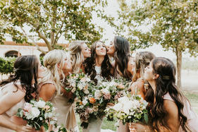 What  stunning bridal party