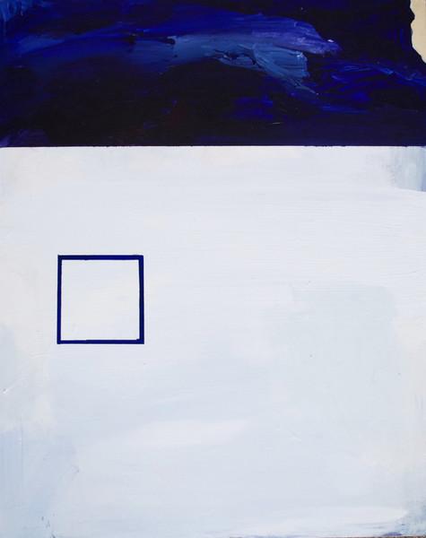 Beyond, acrylic on canvas, 2018