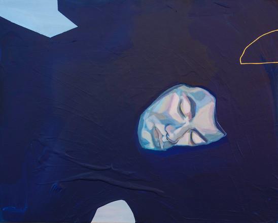 Dreamscape, 40 x 50cm, acrylic on canvas, 2018